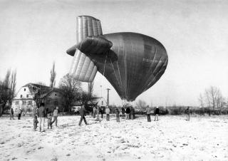Balón již máme, ještě vzducholoď